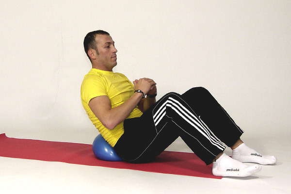 Oblique Abdominal Muscles on the Pilates Ball