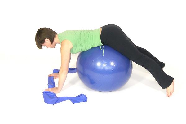 Ejercicio de espalda y hombro