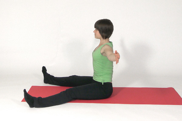 Seated Spinal Rotation