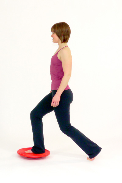 Lunges with the Balance Board