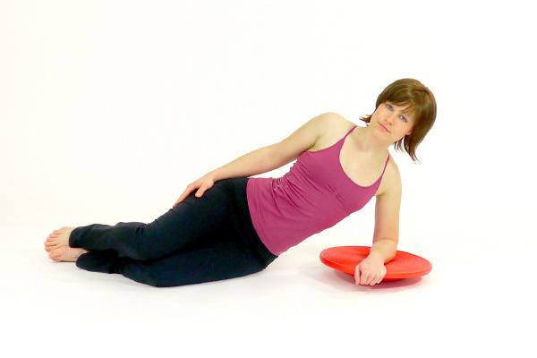 Side Plank on the Balance Board