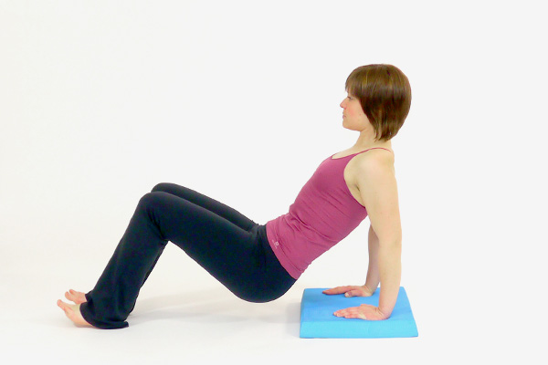 Triceps Dips on the Balance Pad