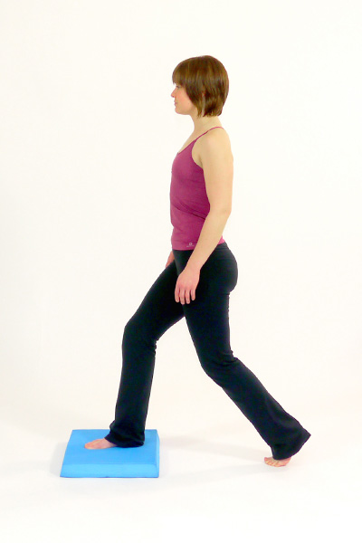 Lunges on the Balance Pad