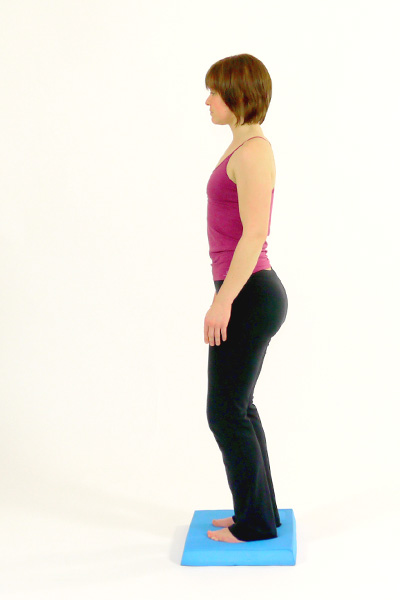 Squats on the Balance Pad