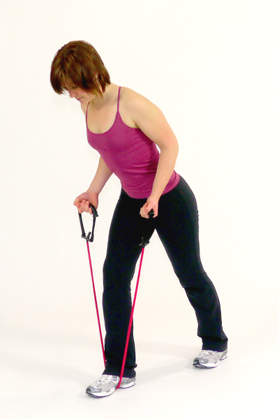 Triceps with the Exercise Tube