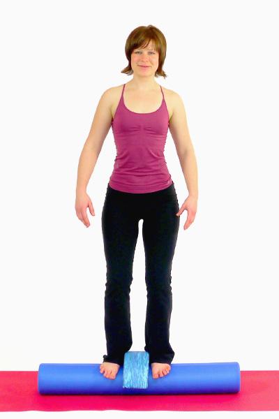 Squats mit Pilates Roller und Head Align