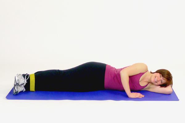 Äußere Oberschenkel (Abduktoren) mit dem Exercise Loop