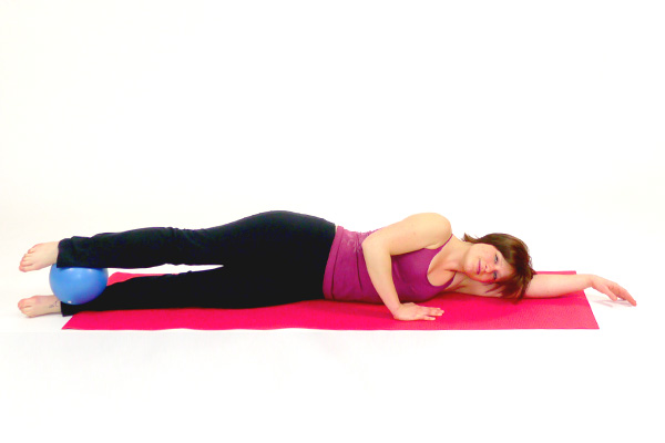 Lateral Trunk Muscles with the Pilates Ball