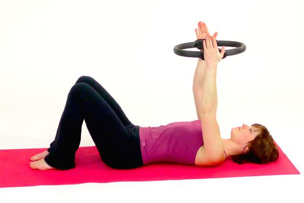 Pilatescircle Brust- und Armübung